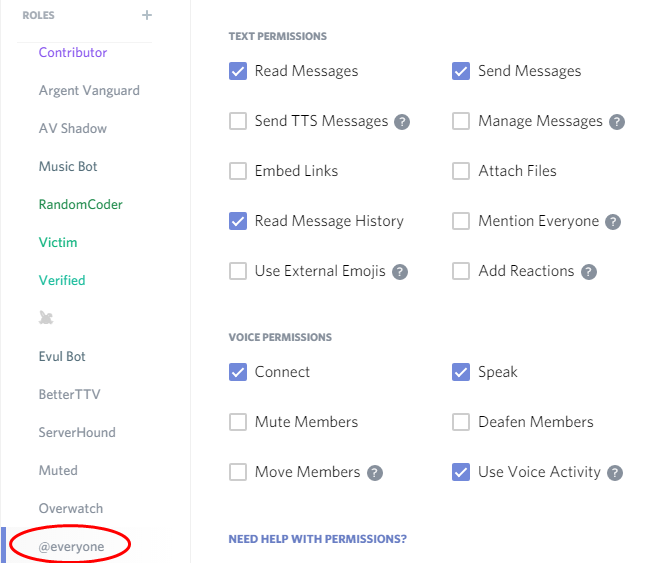 Discord Guide: Server setup and Permissions